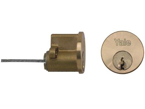 Yale YALP1109PB P1109 - Cilindro de llanta de repuesto (2 llaves, latón)
