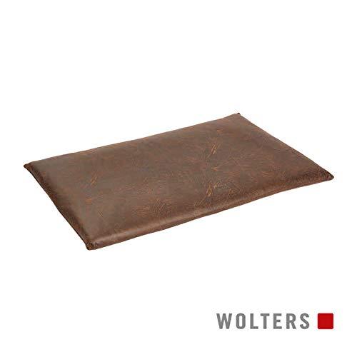 WOLTERS Senator Reise Matratze versch. Größen und Farben, Größe:Gr. M 70 x 43 cm, Farbe:antik-braun
