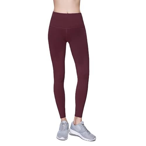 Pantalones de Yoga Anti-Sentadillas para Mujer, Pantalones Deportivos de Cintura Alta, Leggings, Pantalones de Fitness al Aire Libre, Pantalones de Yoga de Secado rápido elásticos DM