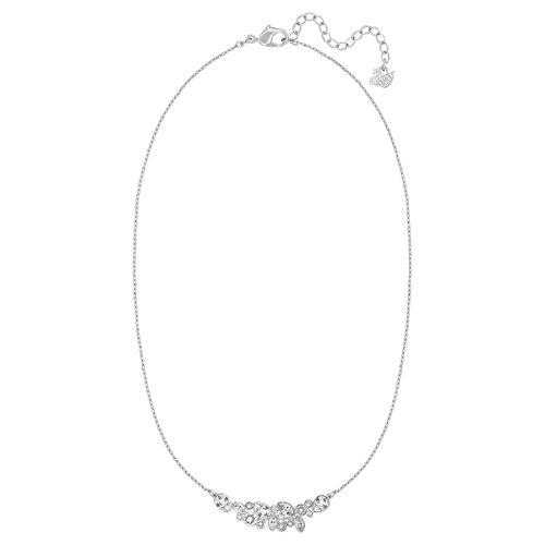 Swarovski - Ciondolo Donna Diapason Medio, rodiato, Trasparente, 38 cm - 5146738