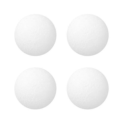 Richolyn 4/32 Pack Bolas De Filtro Reutilizables Filter Balls Duraderas Arena De Cuarzo para Piscina Bolas Filtrantes Piscina para Piscinas, Bañeras, Aguas Termales, Bañeras De Hidromasaje