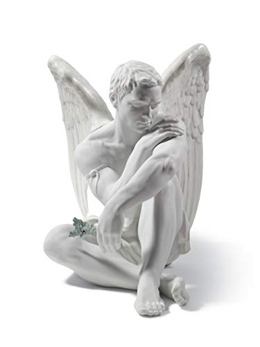 LLADRÓ Figur Schutzengel. Engel. Porzellan.