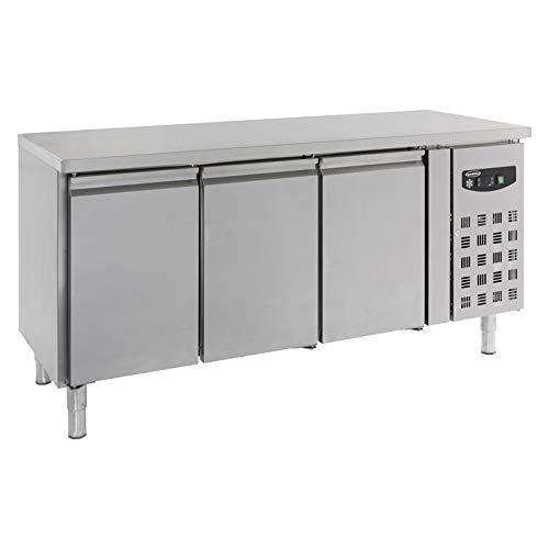 Table réfrigérée négative GN1/1-3 portes - Combisteel - R290 3 Portes Pleine
