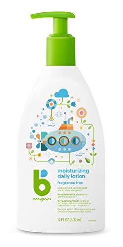 Price comparison product image Babyganics Moisturizing Daily Lotion,  Fragrance Free,  17oz Pump Bottle (Pack of 2)
