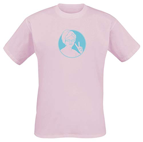Lewis Capaldi Icon Hombre Camiseta Rosa L, 100% algodón, Regular