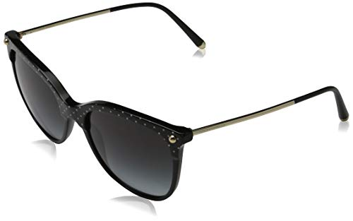 Dolce & Gabbana 0DG4333 Gafas de sol, Pois White On Black, 55 para Mujer
