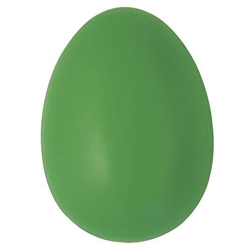 Rayher 3906029 Plastik-Eier, 6 cm, grün
