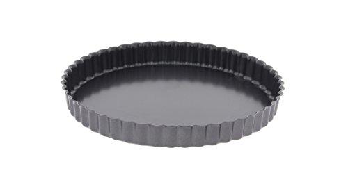 DE BUYER -4705.24 -tarte cannelee droite fond fixe ø24