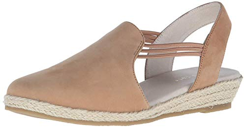David Tate Women's Nelly Slingback,Tan Nubuck,US 8 W