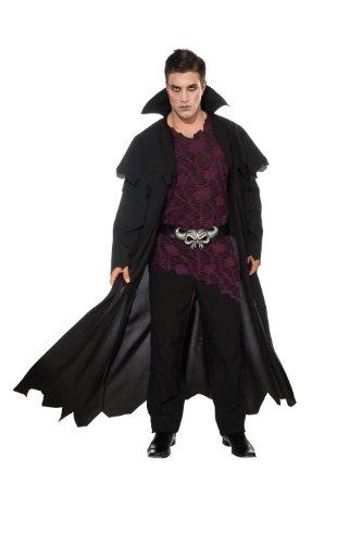 Rubie's Costume Deluxe Bad Blood Vampire, Black, Standard Costume