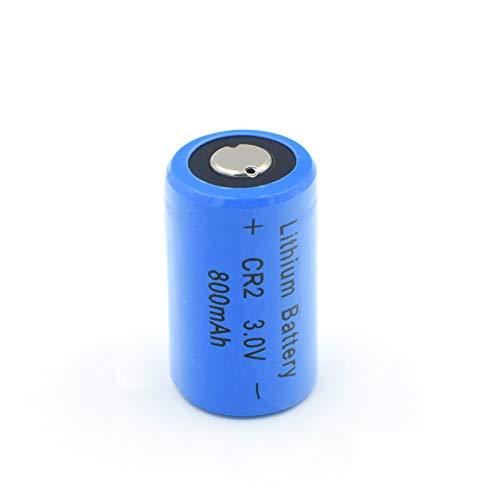 MeGgyc 3 V 800 mAh 3 V Lithium-Batterie für Türklingeln, GPS Sicherheitssysteme, Kamera, elektronische Geräte, 4 Stück