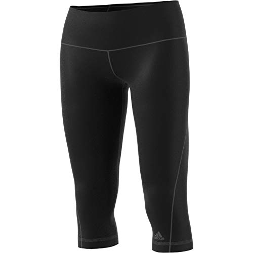 adidas Damen Sporthose Workout High Rise 3/4 Tights Hose, Black, M