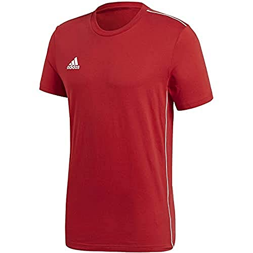 adidas Unisex-Child CORE18 Tee Y T-Shirt, Power red, 1516