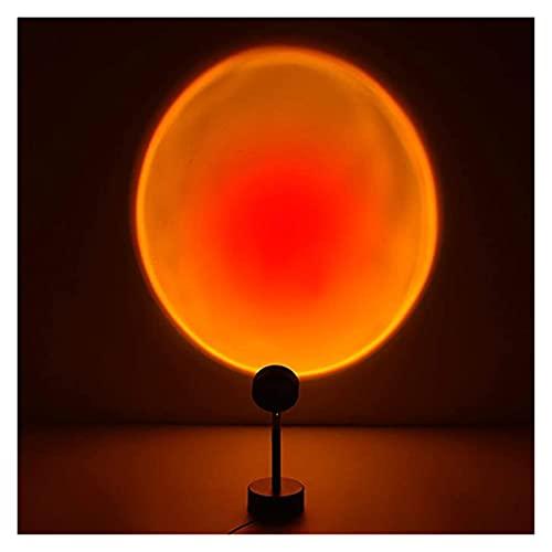 LKXSWZQ Sala de Estar Puesta de Sol Puesta de Sol luz lideró la Esquina proyección Sol n't Establece atmósfera luz Puesta de Sol Rojo