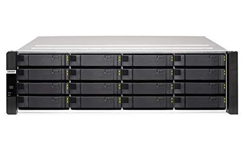 QNAP-ES1686dc-2142IT-128G 16-Bay Enterprise ZFS NAS SAS 12G/6G Xeon D-2142IT 1.9GHz 128GB RAM with Rail Kit