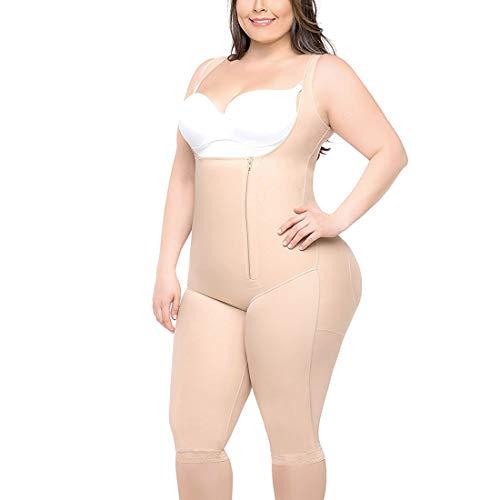 YDSH Kobiety body wyszczuplające sylwetkę otwarty biust body mocne kontrolowanie bielizna figurowa bezszwowe body z zamkiem błyskawicznym