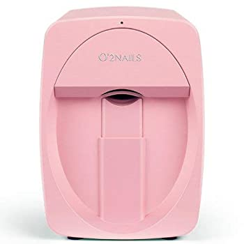 O 2nails Digital Mobile Nail Art Printer M1  Pink  - Mini Portable Nail Painting Machine Control through Free Mobile App
