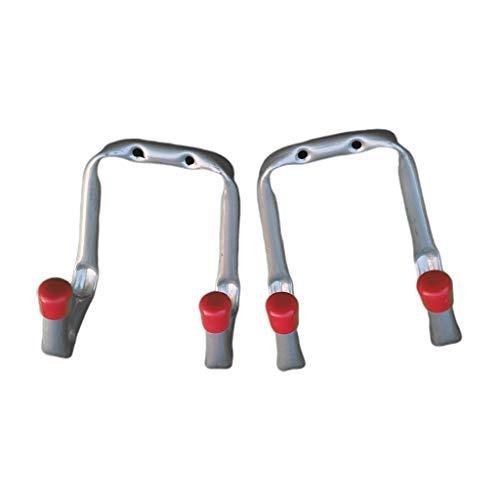 B Blesiya 2 x Autoreifen Wandhalter Reifenhalter Gerätehalter Wandhalterung Werkzeughalter Garagenhaken Belastbar bis 40 Pfund