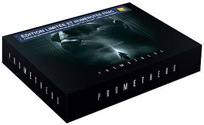 Prometheus - Box Set Pre-Reservierung - Exklusiv Limited Edition Fnac auf 1080Stück inkl. 2 Blu-rays: Alien und Avatar (Blu-ray+DVD)