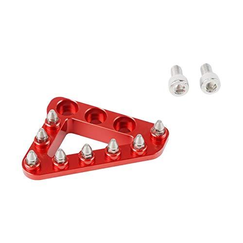 LiMePng Motorrad hinterer Fußbremse Pedalhebel Schritt Tippteller Fit für Beta 250 300 350 390 400 430 450 480 500 RR RS RR-S 2T Enduro Racing LiMePng (Color : Red)