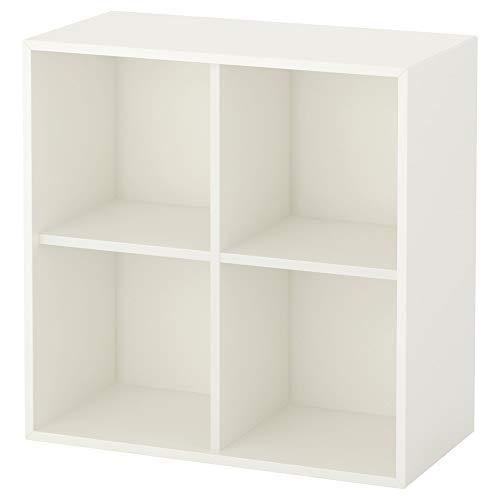 IKEA EKET Schrank mit vier Fächern in weiß