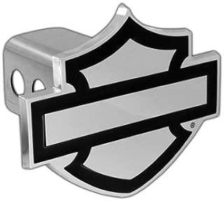 Harley-Davidson Trailer Hitch Cover Plug Bar & Shield Emblem (2 inch post)