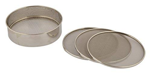 Stainless Steel Atta Chalani 4 in 1 5-Piece Silver