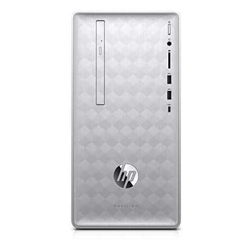 HP Pavilion 590 2018 Desktop Computer, 8th Generation Intel 6 Cores i5-8400 Up to 4.0GHz, 32GB DDR4 RAM, 1TB HDD + 512GB SSD, Bluetooth 4.2, WiFi 802.11AC, USB 3.1, HDMI, Windows 10