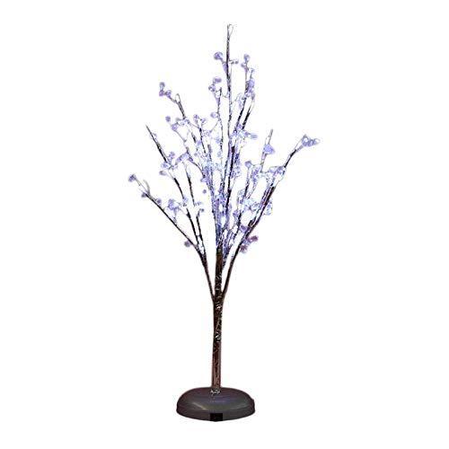 MagiDeal Lámpara de Mesa en Forma de árbol de PVC, lámpara de Noche, lámpara de Escritorio luz de Noche para Adultos niños, para dormitorios, Salas de Estar,