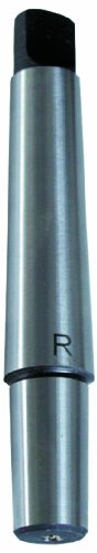 Röhm 14905 Type 236 Taper Shank Arbor with Morse Taper 2 to B12 Drill Chuck, 11.1mm Shank Diameter, 106.5mm Length