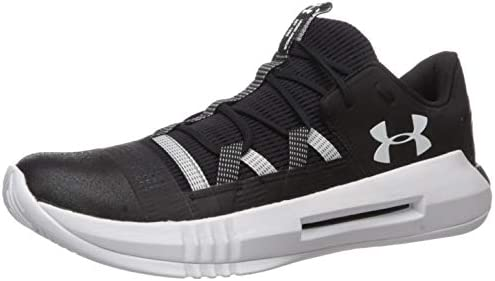 Under Armour Men s Block City 2 0 Volleyball Shoe Black 001 White 9 5 product image