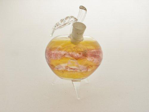 """Obstfliegenfalle aus Glas, """"Apfel"""", gelb/rot"""