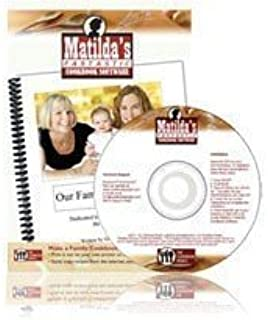 Matilda's Fantastic Cookbook Software. Windows 10, 8, Windows 7 [CD-ROM] Windows 2000 / Windows XP / Windows Vista