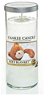 Yankee Candles Large Pillar Candle - Soft Blanket (Pack of 2) - ヤンキーキャンドル大きな柱キャンドル - ソフト毛布 (x2) [並行輸入品]