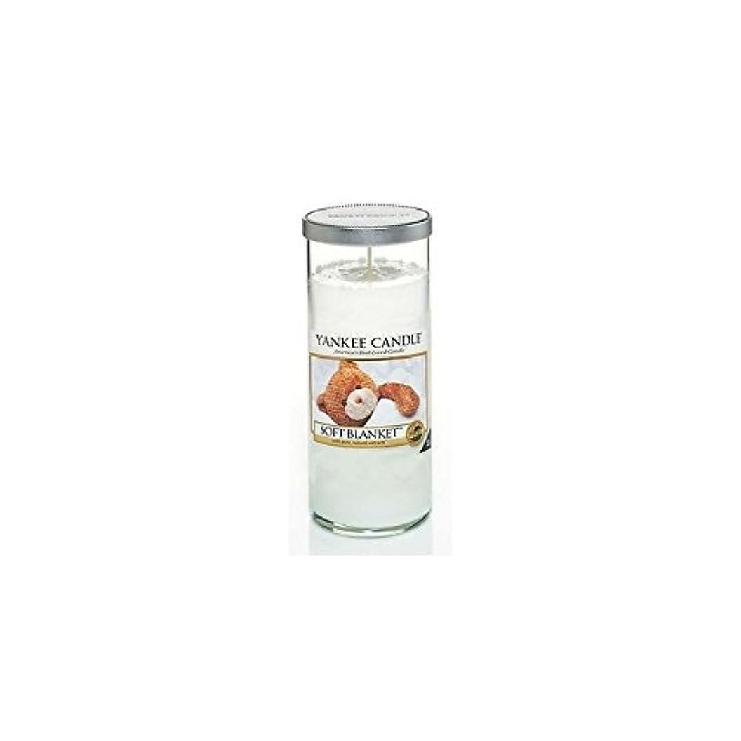 ブローホール説教する石灰岩Yankee Candles Large Pillar Candle - Soft Blanket (Pack of 6) - ヤンキーキャンドル大きな柱キャンドル - ソフト毛布 (x6) [並行輸入品]