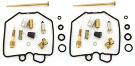 Set of 2 Carburetor Rebuild Kits - Compatible with Honda CX500 CX500C CX500D 1978-1979