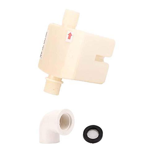 Válvula de controle Válvula de controle de nível de água com filtro de boca e conector Válvula de água de plástico de alta(4 points side inlet water valve)