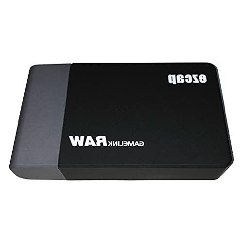 ZOUD Tarjeta de captura de vídeo USB 3.0 con HDMI Loop-Out 4K USB Game Video Passthrough HDR 4K para juegos Live Streaming USB3.0 Componentes de computadora de juego