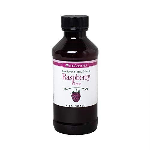 LorAnn Raspberry Super Strength Flavor, 4 ounce bottle