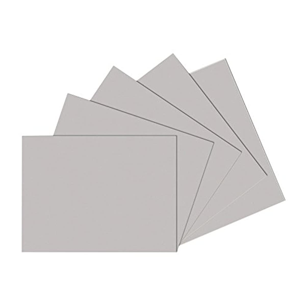 Sax Gray Drawing Paper, 80 lb., 12 x 18 Inches, Pearl Gray, 500 Sheets
