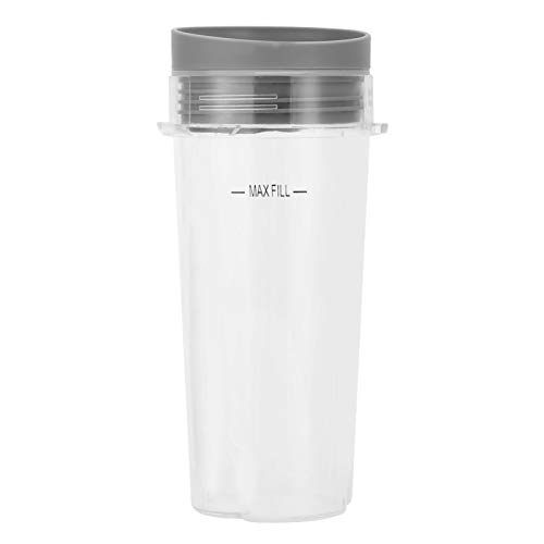 Omabeta 16 oz Large Tall Cups Lid Blender Part Kit Replacement Blender Cup Blender Cup Set with Lid for NINJA Accessory 8 x 6.5 x 17.5 cm