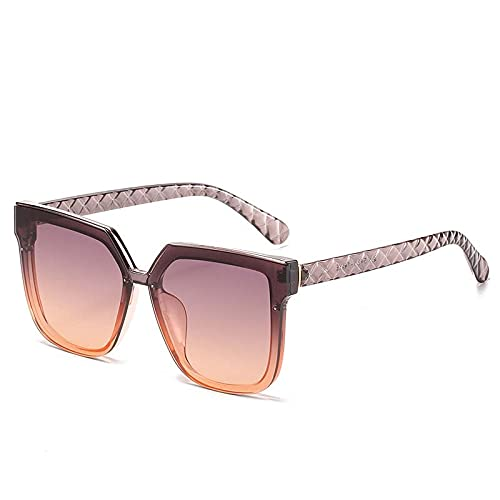 AMFG Fashion Gafas de sol Marco Gafas de sol Femeninas Viajes al aire libre Fotografia (Color : E)
