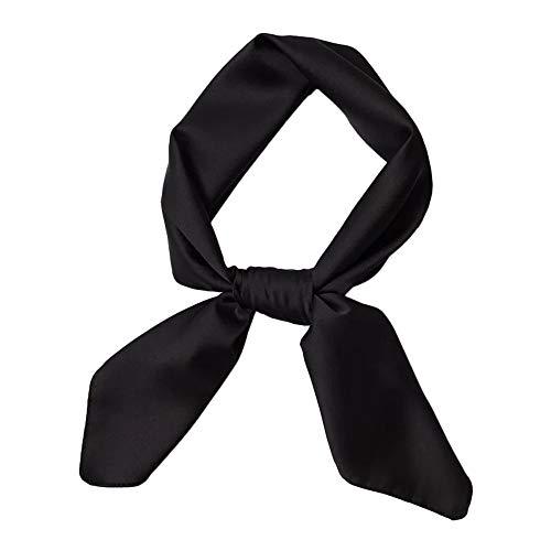 HIDOUYAL Damen Halstuch 70cmx70cm, Einfarbiges Kopftuch Quadratischer Schal Dekoration-Schal Frühling & Herbst Schal