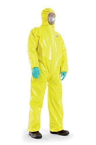 Flüssigkeitsdichter Infektions Schutzanzug Gr. XL Honeywell SPACEL mit integrierten Handschuhen und Füsslingen, Kat III Typ 3, 4, 5 und 6...