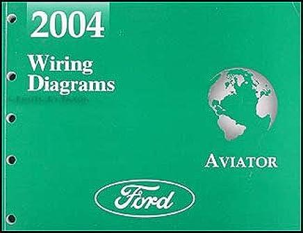 2004 lincoln aviator wiring diagram manual original paperback – 2004