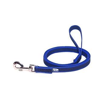 Julius-K9 Laisse De Sport Anti-Glisse Avec Poignée Pour Chien, Bleu, 2m X 20mm Pour Chien Avec Poignée Bleu Autre