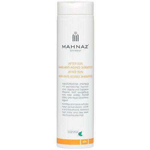 MAHNAZ After Sun & Anti-Aging Shampoo, neue Vitalität nach Sonne, Strand, Salzwasser, 200 ml