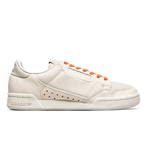 adidas Originals Pharrell Williams Continental 80 - Zapatillas deportivas para hombre, color crema, color Marfil, talla 39 2/3 EU