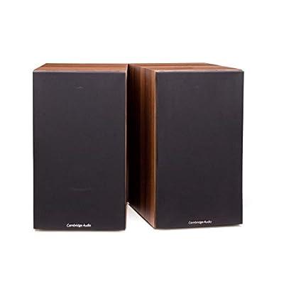 Cambridge Audio SX-60, Entry Level Standmount Speakers per pair (Walnut) by CAMBRIDGE AUDIO