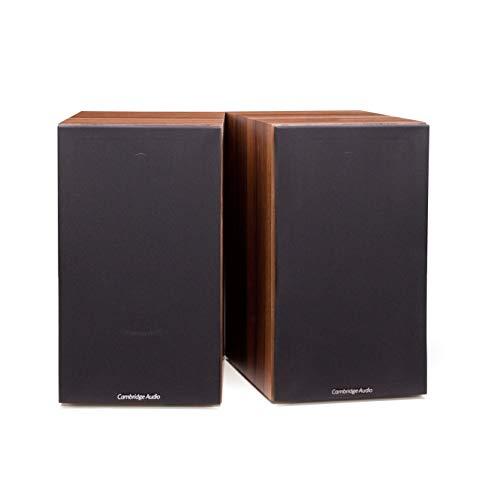 Cambridge Audio SX-60, Einsteiger-Bücherregal-Lautsprecher pro Paar (Walnuss)